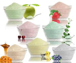 4x200g(16,88€/kg) bunter Zucker für Zuckerwatte mit Geschmack,Zuckerwattezucker