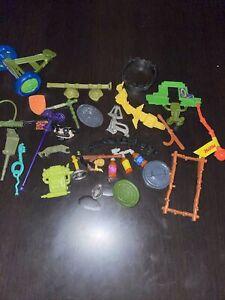 Lot Vintage Teenage Mutant  Ninja Turtles 1980s Accessories