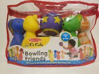 Melissa & Doug Bowling Friends Preschool Playset, New never opened mint conditio