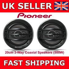 """Pioneer TS-A2013i Car Van Door Shelf Coaxial Speakers 20cm 8""""  3-Way 500Watt"""
