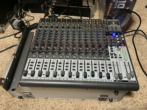 Behringer Xenyx 2222FX Audio Mixer With Effects