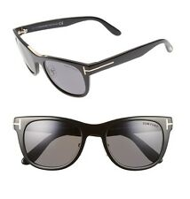 TOM FORD Men FT0045 01D Jack Black Polarized Frame Italy Sunglasses Shades