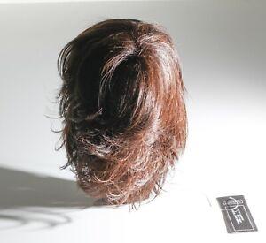 Wavy Pixie Dark Brown Luxhair Wig Keralon Synthetic Fiber