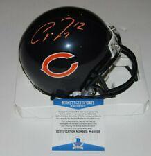 ALLEN ROBINSON signed (CHICAGO BEARS) mini football helmet BECKETT BAS M48098