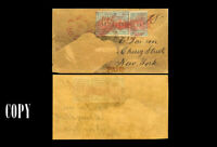 USA  1850 Cover Hawaiian Missionary 13c Blue, Postmaster in Red.Copy