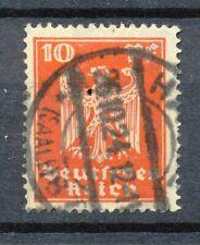 Reich 357 gebruikt met langebalkstempel HALLE (SAALE) 8 f