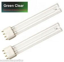 GREEN CLEAR® 2 X 36W 36 WATT 4-PIN PLL UV UVC ULTRAVIOLET LAMP BULB FISH POND