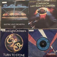 16 E.L.O. Electric Light Orchestral 45 RPM Vinyl Singles Jeff Lynne