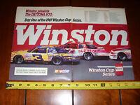 1987 MONTE CARLO SS NASCAR ORIGINAL 2 PAGE AD