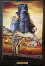 """NED KELLY laminated POSTER """"BRAND NEW"""""""
