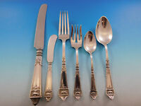 Lansdowne by Gorham Sterling Silver Flatware Set for 12 Service 82 Pieces Dinner