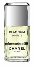 EGOISTE PLATINUM CHANEL PARIS FOR MEN 3.4 OZ / 100 ML EAU DE TOILETTE SPRAY NEW