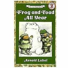 Frog and Toad All Year by Arnold Lobel Good Paperack 0064440591 (T-4)