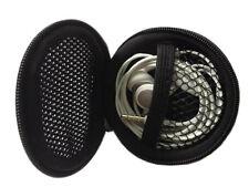 Black Carrying Hard Case Storage Bag holder For Apple Sony Earphone Headphone
