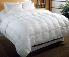 New 4.5 Tog Single Bed Size Duck Feather & Down Duvet / Quilt Bedding