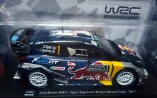 1/24 HACHETTE FORD FIESTA WRC COLLECTION RALLY MONTECARLO 2017 S. OGIER