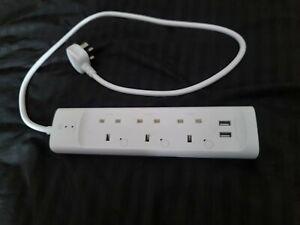 TP-LINK KP303 Kasa Smart Wi-Fi Power Strip 3 Outlets - White