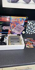 SNES Console Boxed Street Fighter