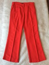 Nissa Red Trousers Ladies Size Uk 10 Stunning!