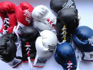 One Pair of Novelty Lonsdale Mini Boxing Gloves (Choice of Colours)