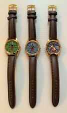 Lot of 3 SEIKO MICKEY MOUSE Automatic, Self Winding Day/Date Wrist Watches MINT!