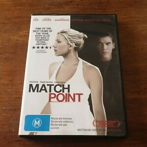 Match Point DVD R4 Like New! FREE POST