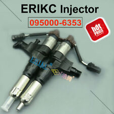 ERIKC Fuel Injector 095000-6353 23670-E0050 For Hino J05E J06 Kobelco Excavator