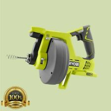 Electric Drain Snake Auger Cable Pipe Sewer Clog Remover Cleaner Cordless Ryobi