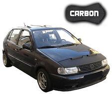 Haubenbra VW Polo 6N CARBON Hood Bonnet Bra Steinschlagschutz Front Mask