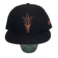 Arizona State University Sun Devils New Era 59FIFTY Cap Hat Fitted Size 7 1/8