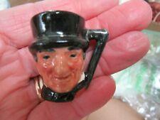 Royal Doulton Sam Weller Miniature 1 3/8� Character Toby Jug/Mug