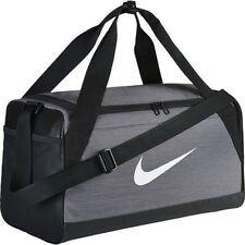 Nike Sports Bag Brasilia Small Duffel Grey Black-white Ba5335 064 4fcb584ccd