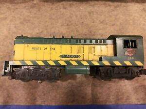 American Flyer #355, #302 & #303 Locomotive with tender, track, cars, accessorie