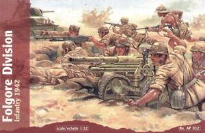 Waterloo 1/32 WWII Italian Folgore Infantry # AP012