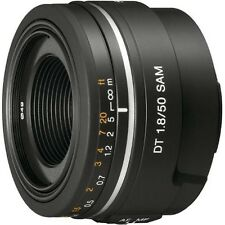 SONY SAL50F18 DT 50mm F1.8 SAM Lens for Sony Alpha DSLR