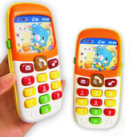 Cute Kids Toy Phone Educational Learning Music Electronic Children Toys Gift