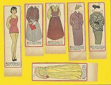 Harriet Anderson Rare Vintage 1950s Movie Film Star Paper Doll Sweden