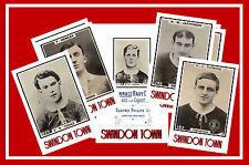 SWINDON TOWN  - RETRO 1920's STYLE - NEW COLLECTORS POSTCARD SET