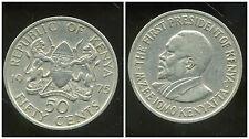 KENYA 50 cent 1975  ( bis )