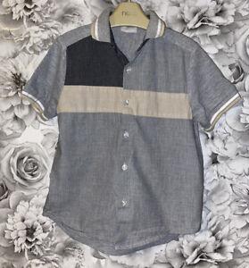 Boys Age 5-6 Years - Next Signature Short Sleeved Shirt