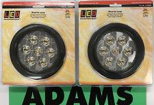 LED Autolamps 2x 113WMG Reverse Lamp 12/24V 5 Year Warranty 4WD/Truck/Caravan