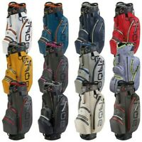 2020 Big Max Golf Aqua Sport 2 Wasserfest Cart Trolley Tasche 14-Way Top Teiler