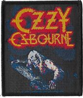 Official Merch Woven Sew-on PATCH Black Sabbath OZZY OSBOURNE Bark at the Moon