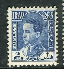 IRAQ; 1934 early King Ghazi issue fine used 2f. value