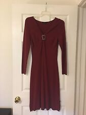 Wine Red BCBG Dress Size M