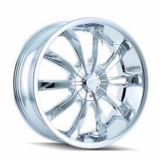 """DIP Slack D66 Chrome Wheel (18x7.5""""/10x112mm) D66-8709C (55)"""