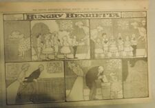 Hungry Henrietta by Winsor McCay from 6/25/1905 ! Half Page Size! 11 x 15 inches