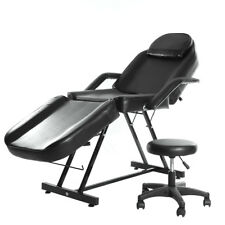 Balance Massage Table Recliner Body Treatment Tattoo Therapy Couch Bed +Stool UK