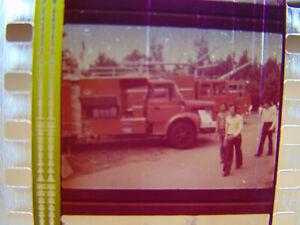 "35mm Soviete Documentary ""Firefighting equipment car"" Film Color Movie Cars Auto"