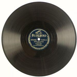 KANSAS KATIE: Deep Sea Diver US Bluebird B-8944 Blues 78 Ethel King HEAR